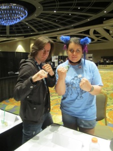 Matthew Mercer and I are ready to face down some Titans