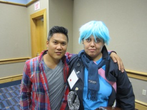Me and Dante Basco.