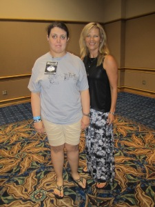 Me and Mary Elizabeth McGlynn